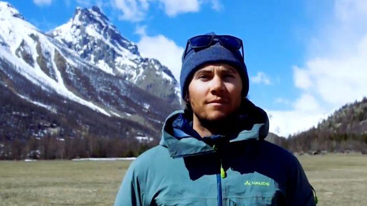 Maxime Buffet, skieur freeride part à l'assaut de deux sommetsde l'Himalaya de plus de 6000 mètres. (CAPTURE D'ÉCRAN YOUTUBE)
