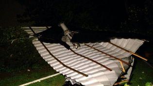 Un coup de vent très violent s'est abattu sur la commune de Gerbépal (Vosges), dans la nuit du 13 au 14 mai 2015. (LODOIS GRAVEL / FRANCE 3 LORRAINE)