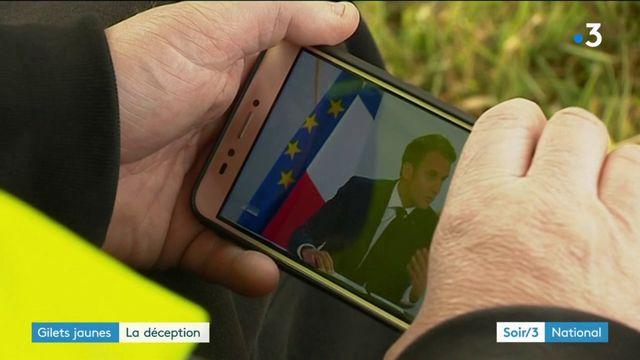 """""""Gilets jaunes"""" : la déception suite à la conférence de presse d'Emmanuel Macron"""