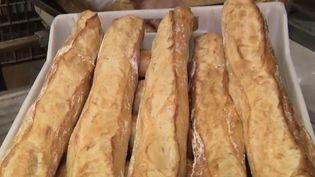 Consommation : hausse du prix de la baguette de pain.  (FRANCEINFO)