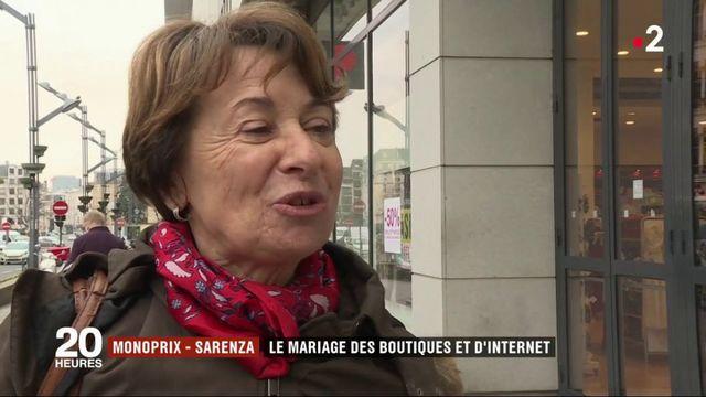Monoprix-Sarenza : le mariage des boutiques et d'internet