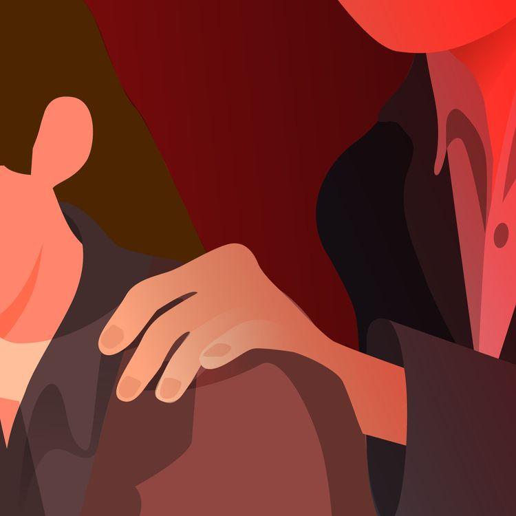 Des éditrices et autricesracontent à franceinfo le sexisme ordinaire, le harcèlement et les agressions sexuelles subies dans leur milieu professionnel. (JESSICA KOMGUEN / FRANCEINFO)