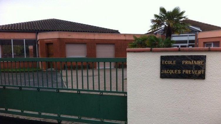 L'école primaire de Plaisance-du-Touch où a eu lieu la prise d'otages. (FRANCE 3 MIDI-PYRENEES)