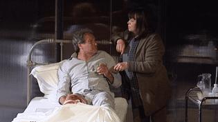 """Francis Lombrail et Myriam Boyer dans """"Misery""""  (France 3 / Culturebox capture d'écran)"""