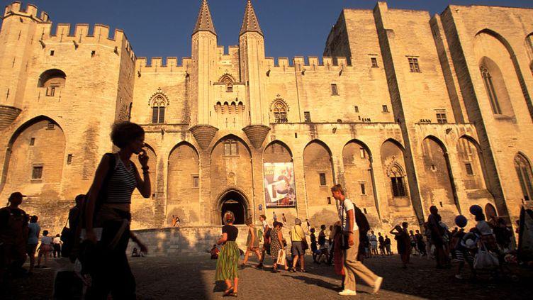 Le palais des Papes d'Avignon  (Amantini Ana / AFP)