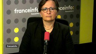 Laurence Vanceunebrock-Mialon, députée LREM, était l'invitée de franceinfo mercredi 24 juillet. (FRANCEINFO / RADIOFRANCE)