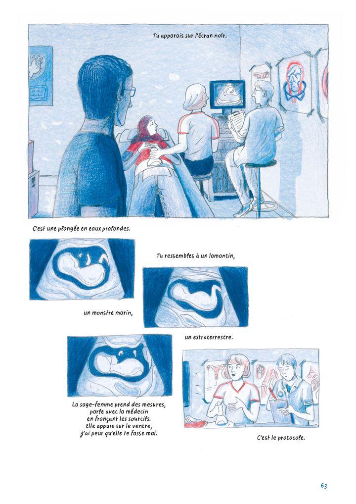 """Chez toi. Athènes 2016"", de Sandrine Martin, extrait de la page 63 (Sandrine Martin / Casterman)"