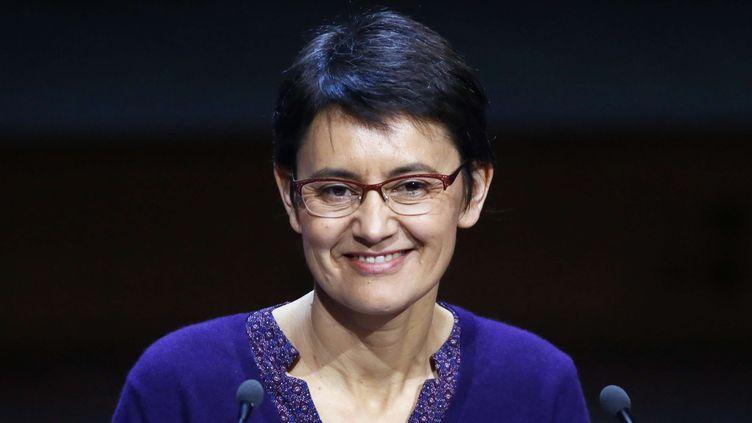 Nathalie Arthaud, mars 2017  (Francois Mori/AP/SIPA)