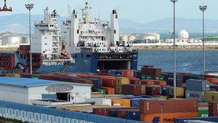 Un port d'Afrique du Nord. (FETHI BELAID / AFP)