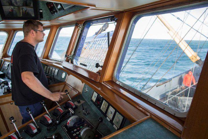 Une centaine de bateaux de pêche européens aussi grands que ce navire allemand vont silloner les eaux mauritaniennes au terme d'un accord de pêche passé entre Nouakchott et l'Union européenne. (Photo AFP/Ton Koene)