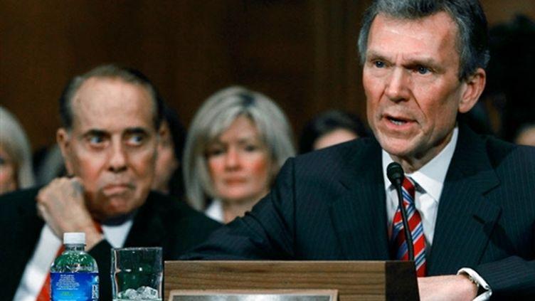 Le nouveau secrétaire à la Santé, Tom Daschle, le 8 janvier 2009 (© Mark Wilson/Getty Images/AFP)