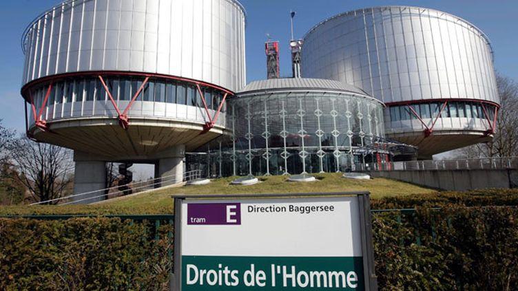(La Cour européenne des droits de l'Homme à Strasbourg © Maxppp)