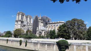 Notre-Dame de Paris, le 29 juillet 2019. (RÉMI BRANCATO / FRANCE-INTER)