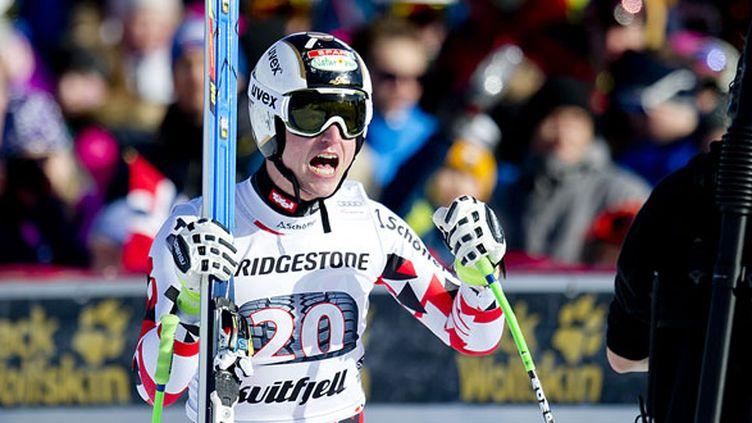 Le skieur autrichien Hannes Reichelt