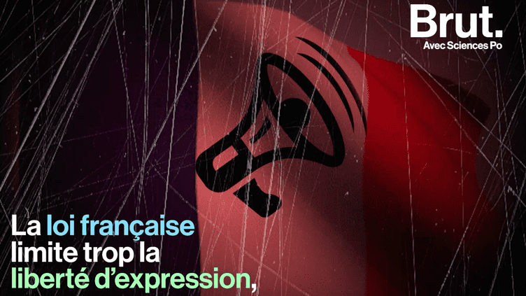 VIDEO. Et si la loi française était trop sévère en matière de liberté d'expression ? (BRUT)