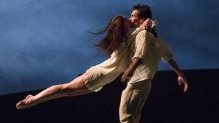 """Aurélie Dupont et Nicolas le Riche dans le """"Parc""""  (Agathe Poupeney / Opéra national de Paris )"""