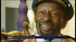 Chuck Berry est mort à l'âge de 90 ans. (FRANCE 3)