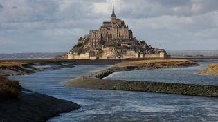 Le Mont-Saint-Michel en janvier 2017  (Manuel Cohen / MCOHEN)