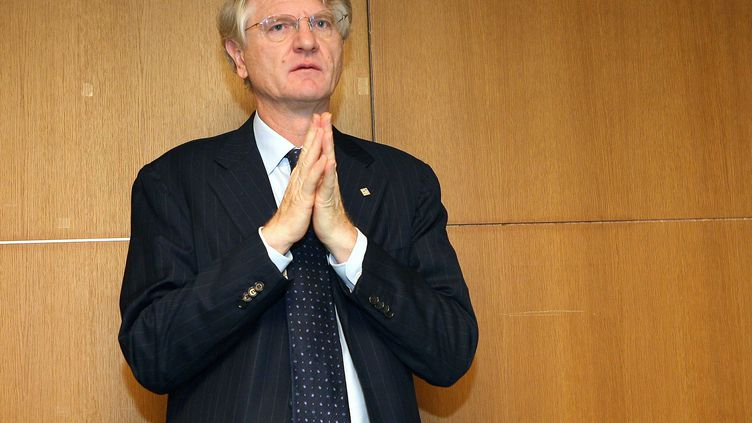 Baudouin Prot, président du groupe BNP Paribas, le 8 novembre 2007 à Paris. (MEIGNEUX / SIPA)