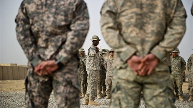 Forces de l'Otan en Afghanistan (AFP/MARTIN BUREAU)