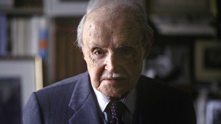 Maurice Genevoix chez lui à Orléans, le 6 mai 1979 (ANDERSEN ULF/SIPA / SIPA USA)