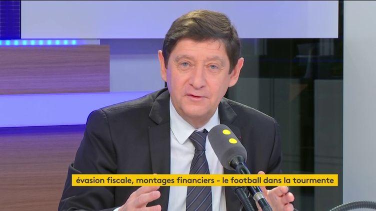 Patrick Kanner, le 13 décembre 2016, sur franceinfo (FRANCEINFO / RADIOFRANCE)