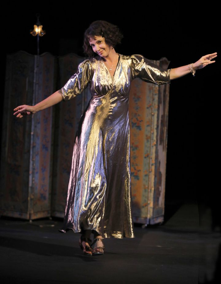"Zabou Breitman dans ""Dorothy"" au théâtre du Chêne Noir à Avignon. (PASCAL VICTOR /  )"