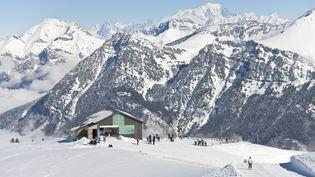 Le domaine des Aillons Margeriaz (Savoie), à proximité du Mont Blanc. (MONTICO LIONEL / HEMIS.FR)