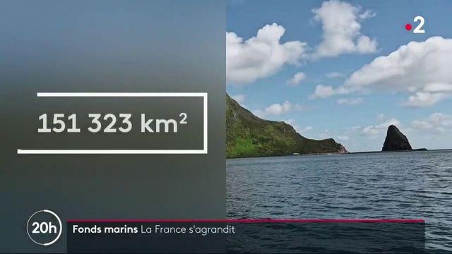 Science : la France étend son territoire maritime