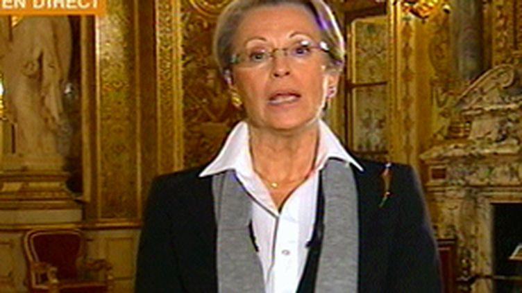 Michèle Alliot-Marie (© France 3)