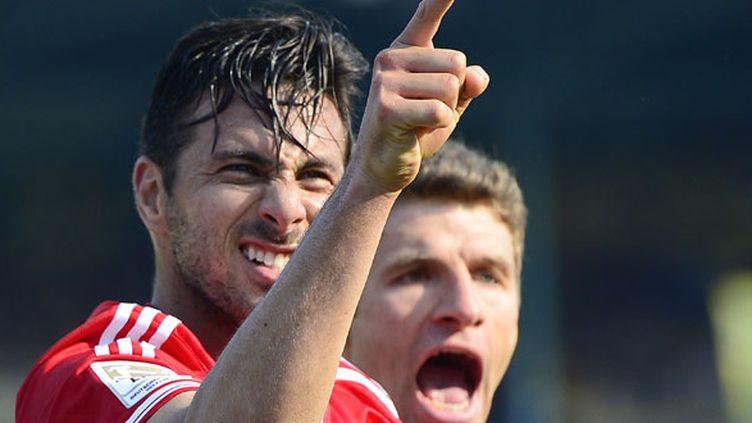 Le Bavarois Pizarro heureux