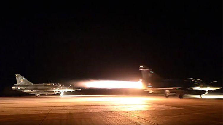 (Raid aérien français sur Raqqa. © ministère de la Défense)