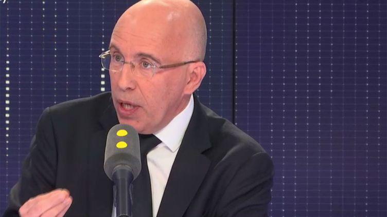 Eric Ciotti, député Les Républicains des Alpes-Martimes, le 6 novembre 2018 sur franceinfo. (RADIO FRANCE / FRANCE INFO)
