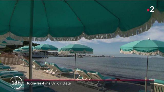Déconfinement : avec la réouverture, un air d'été gagne Juan-les-Pins