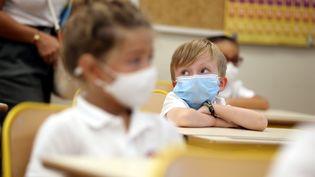 Masque désormais obligatoire à l'école dès six ans. (JEAN FRAN?OIS OTTONELLO / MAXPPP)