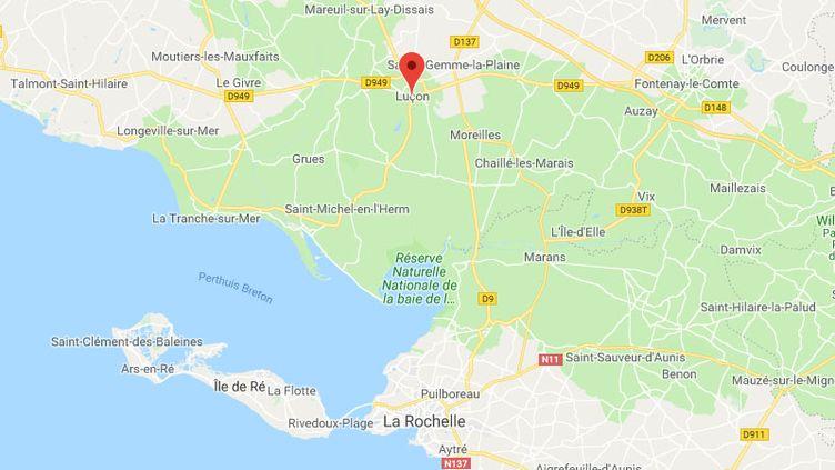 La ville de Luçon (Vendée). (FRANCEINFO / RADIOFRANCE)