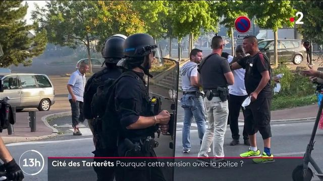 Essonne : encore des affrontements entre des individus et la police dans le quartier des Tarterêts à Corbeil-Essonnes
