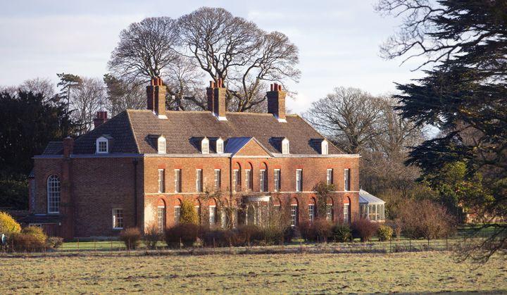 La résidence du duc et de la duchesse de Cambridge, Anmer Hall, à Anmer, dans le Norfolk, le 13 janvier 2013. (MAX MUMBY / INDIGO / GETTY IMAGES EUROPE)