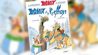 """Couverture de la bande-dessinée """"Astérix et le Griffon"""". (EDITIONS HACHETTE)"""