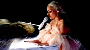 Lady Gaga en janvier 2018 à New York  (KEVIN WINTER / GETTY IMAGES NORTH AMERICA / AFP)