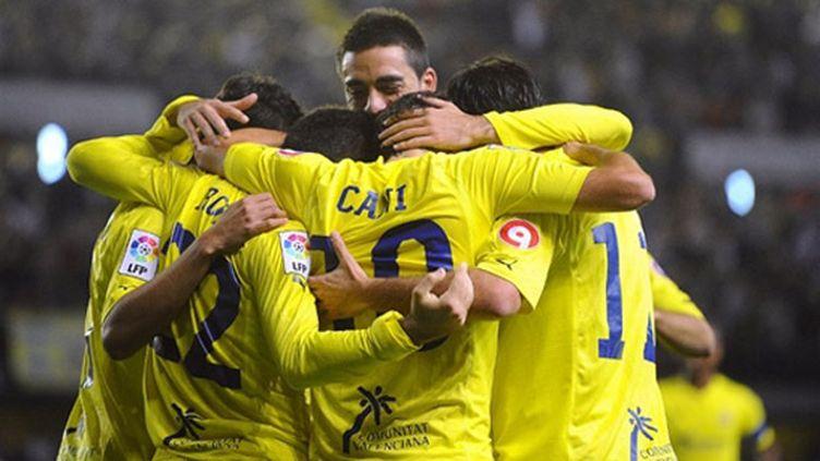 Le bonheur des joueurs de Villareal