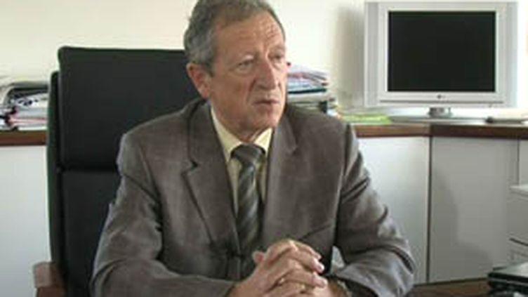 René Souchon, président du conseil régional d'Auvergne. (France 3)