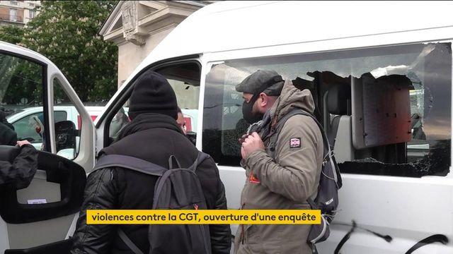 1er-Mai : la CGT attaquée, une enquête ouverte