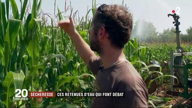 Lutte contre la sécheresse : la France à la traîne en matière de retenue d'eau