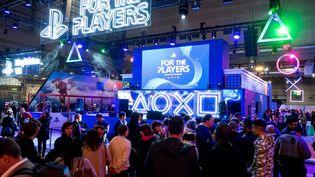 En 2019, la Paris Games Week avait rassemblé317 000 visiteurs sur cinq jours. (BRUNO LEVESQUE / MAXPPP)