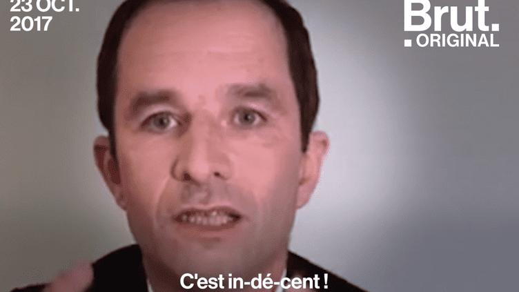 Benoît Hamon sur les économies réalisées dans le secteur hospitalier : « In-dé-cent ! » (Brut.)