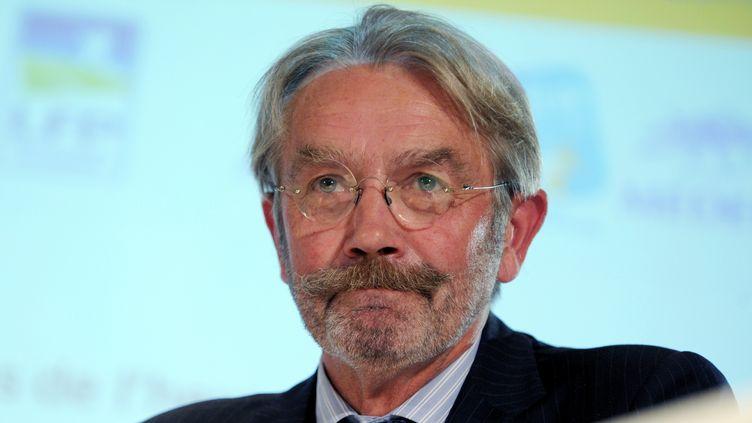 Frédéric Thiriez, ancien président de la Ligue  (ERIC PIERMONT / AFP)