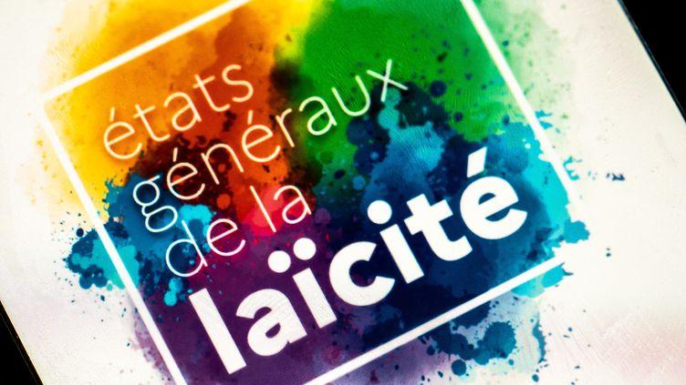 Le logo des Etats généraux de la laïcité, lancés cette semaine par Marlène Schiappa, ministredéléguée auprès duministrede l'Intérieur,en charge de la Citoyenneté.(Illustration) (XOSE BOUZAS / HANS LUCAS / AFP)