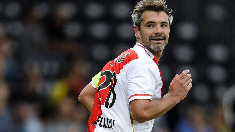 Jérémy Toulalan fait son retour sur le terrain.  (FABRICE COFFRINI / AFP)