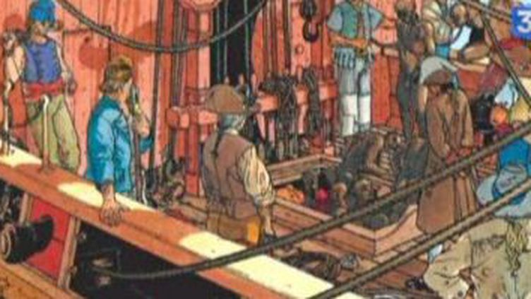 Bourgeon et ses passagers du vent de retour à Angoulême  (Culturebox)
